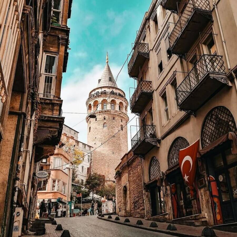 Галатская башня: описание, история, фото