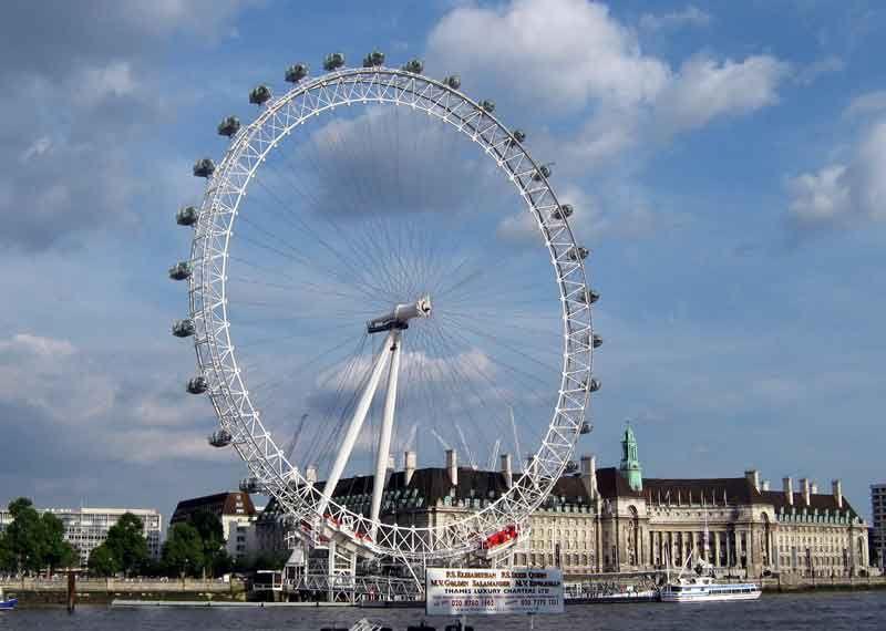Лондонский глаз колесо обозрения факты фото цена